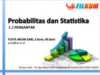Probabilistic and Statistics